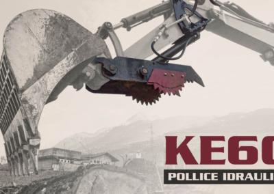 pollice idraulico KE60